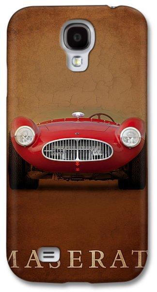 Sports Photographs Galaxy S4 Cases - Maserati A6 GCS Galaxy S4 Case by Mark Rogan