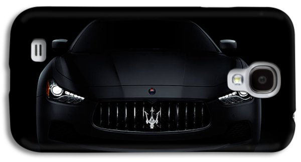 Recently Sold -  - Studio Photographs Galaxy S4 Cases - Maserati Ghibli S Q4 luxury car on black Galaxy S4 Case by Oleksiy Maksymenko