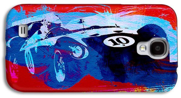 Vintage Car Photographs Galaxy S4 Cases - Maserati on the Race Track 1 Galaxy S4 Case by Naxart Studio