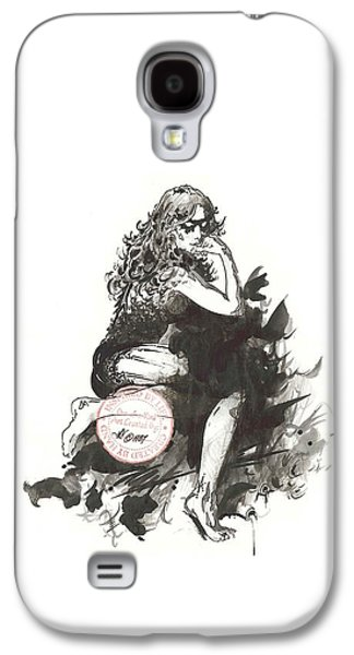 Animation Drawings Galaxy S4 Cases - Masquerade Galaxy S4 Case by Julio R Lopez Jr