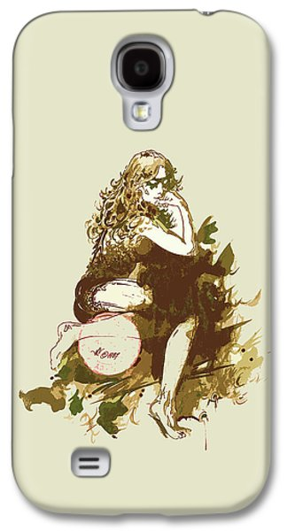 Animation Drawings Galaxy S4 Cases - Yeoseong Galaxy S4 Case by Julio R Lopez Jr