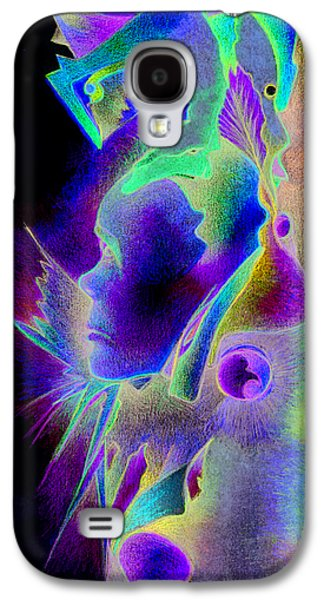 Trippy Drawings Galaxy S4 Cases - Masks and no Carnival Galaxy S4 Case by Bodhi