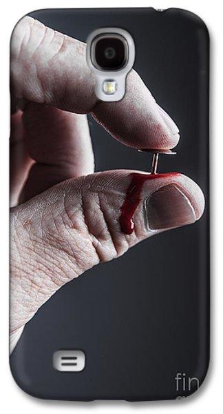 Macabre Galaxy S4 Cases - Masochism Galaxy S4 Case by Diane Diederich