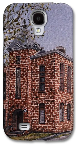 Jail Paintings Galaxy S4 Cases - Mason County Jail Galaxy S4 Case by Wade Powell