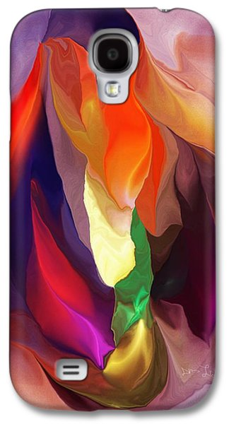 Abstract Digital Galaxy S4 Cases - Masquerade Galaxy S4 Case by David Lane