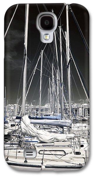 Masts Galaxy S4 Cases - Mast Angles Galaxy S4 Case by John Rizzuto