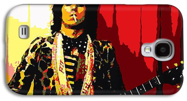 Keith Richards Galaxy S4 Cases - Master Keith Galaxy S4 Case by John Travisano
