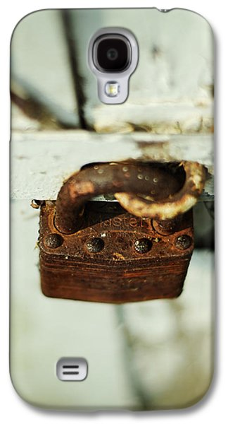 Master Lock Galaxy S4 Case by Rebecca Sherman
