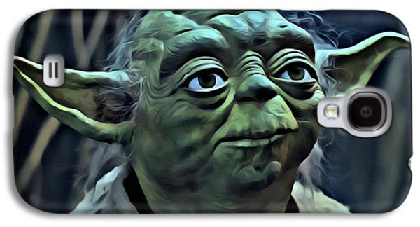 Fantasy Photographs Galaxy S4 Cases - Master Yoda Galaxy S4 Case by Florian Rodarte