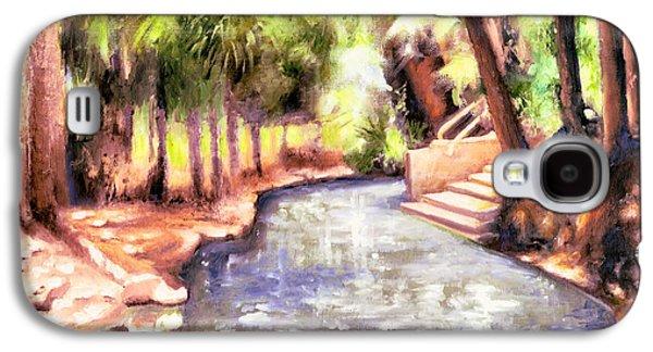 Charles River Paintings Galaxy S4 Cases - Mataranka Hot Springs Galaxy S4 Case by Melissa Herrin