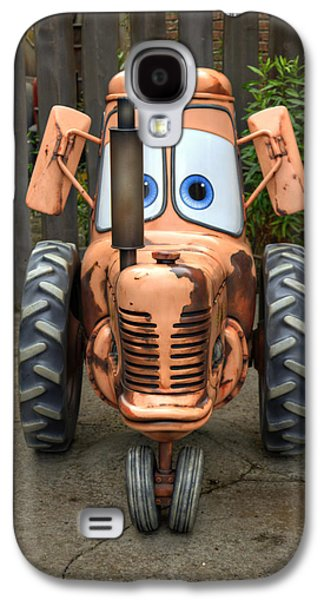 Tractor Prints Galaxy S4 Cases - Maters Tractor Galaxy S4 Case by Ricky Barnard