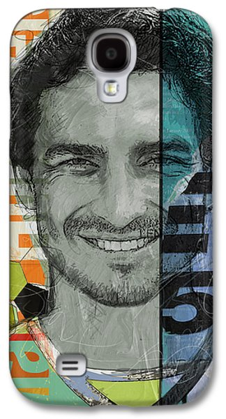Athletes Paintings Galaxy S4 Cases - Mats Hummels - B Galaxy S4 Case by Corporate Art Task Force
