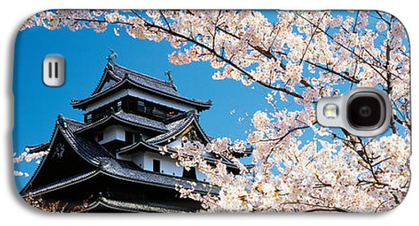 Matsue Castle Cherry Blossoms Shimane Galaxy S4 Case by Panoramic Images