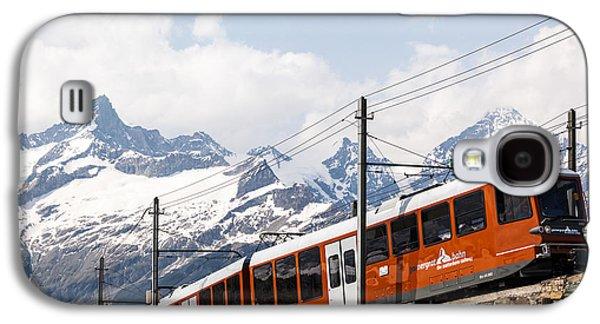 Bahn Galaxy S4 Cases - Matterhorn railway Zermatt Switzerland Galaxy S4 Case by Matteo Colombo