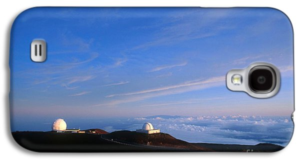 Keck Galaxy S4 Cases - Mauna Kea Observatory Galaxy S4 Case by Gregory G. Dimijian