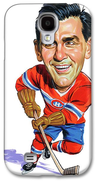 Montreal Canadiens Galaxy S4 Cases - Maurice Rocket Richard Galaxy S4 Case by Art