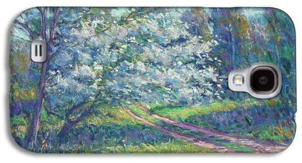 Impressionism Pastels Galaxy S4 Cases - May in Bloom Galaxy S4 Case by Michael Camp