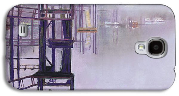 Fog Mist Pastels Galaxy S4 Cases - May River Fog Galaxy S4 Case by David Randall