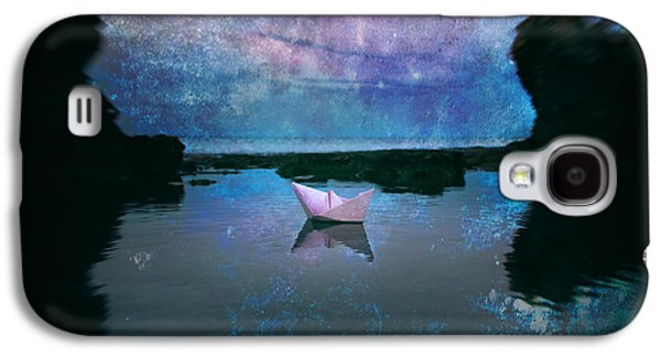 Toy Boat Galaxy S4 Cases - Maybe Stars Galaxy S4 Case by Stylianos Kleanthous