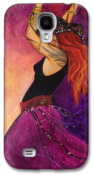 Wicca Paintings Galaxy S4 Cases - Mayfire Galaxy S4 Case by Dori Hartley