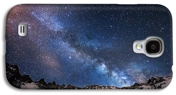 Landscape Metal Prints Galaxy S4 Cases - Mayflower Gulch Milky Way Galaxy S4 Case by Darren  White
