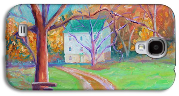 Grist Mill Paintings Galaxy S4 Cases - Mc Donalds Mill Galaxy S4 Case by Todd Bandy