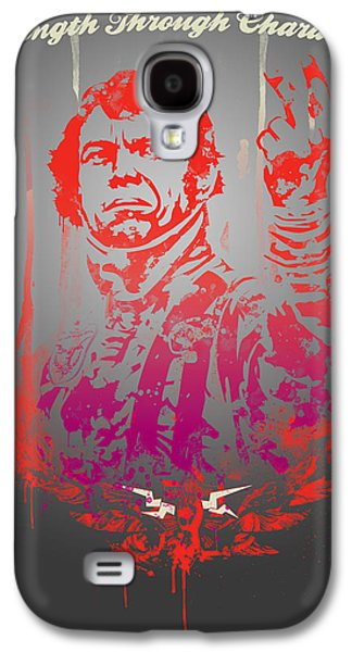 Personality Galaxy S4 Cases - Mcqueen Galaxy S4 Case by Pop Culture Prophet