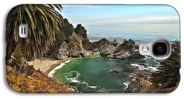 Big Sur Ca Galaxy S4 Cases - McWay Falls Galaxy S4 Case by Adam Jewell