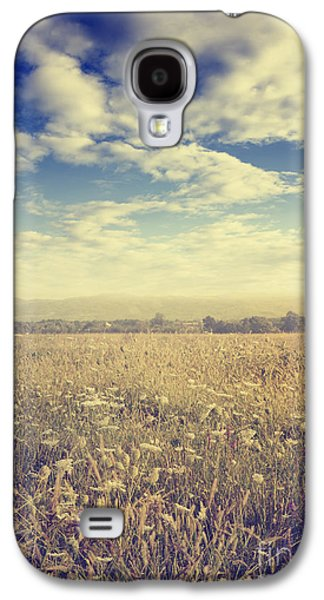Light Pyrography Galaxy S4 Cases - Meadow Galaxy S4 Case by Jelena Jovanovic