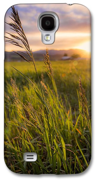 Sun Galaxy S4 Cases - Meadow Light Galaxy S4 Case by Chad Dutson