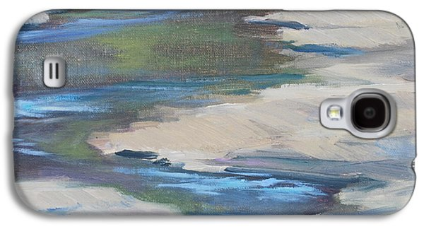 Nashville Tennessee Paintings Galaxy S4 Cases - Meandering Through Time Galaxy S4 Case by Carol  DeMumbrum