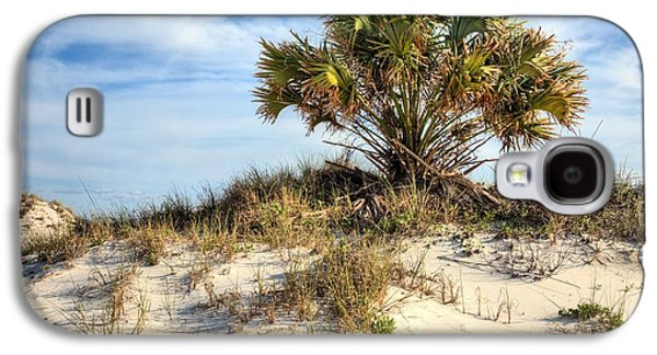 Florida Panhandle Galaxy S4 Cases - Meanwhile Somewhere in Florida Galaxy S4 Case by JC Findley