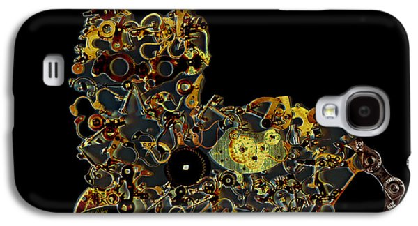 Machinery Galaxy S4 Cases - Mechanical - Cat Galaxy S4 Case by Fran Riley