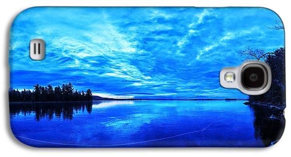 Maine Winter Galaxy S4 Cases - Meddybemps Blues 1 Galaxy S4 Case by Bill Caldwell -        ABeautifulSky Photography
