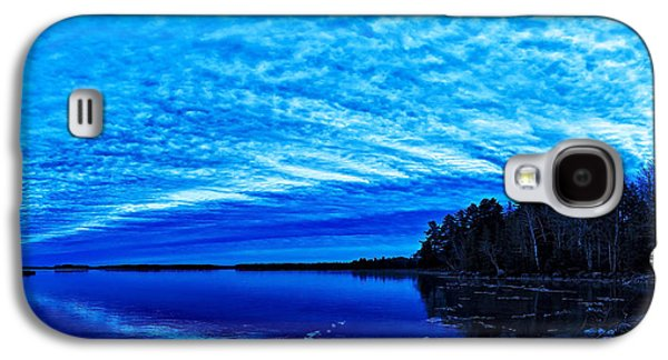 Maine Winter Galaxy S4 Cases - Meddybemps Blues 3 Galaxy S4 Case by Bill Caldwell -        ABeautifulSky Photography