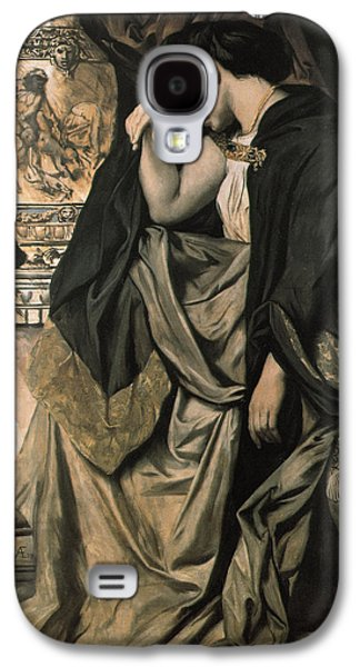 Sadness Paintings Galaxy S4 Cases - Medea Galaxy S4 Case by Anselm Feuerbach