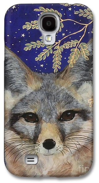 Fox Kit Paintings Galaxy S4 Cases - MediaNoche Galaxy S4 Case by Sue Betanzos