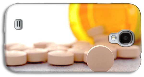 Pill Galaxy S4 Cases - Medication Galaxy S4 Case by Olivier Le Queinec