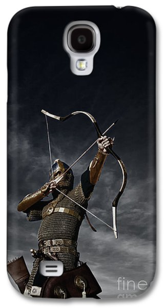 Fantasy Photographs Galaxy S4 Cases - Medieval Archer II Galaxy S4 Case by Holly Martin