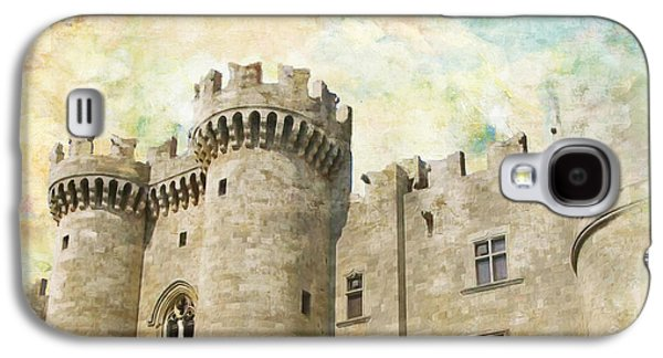 Byzantine Paintings Galaxy S4 Cases - Medieval City of Rhodes Galaxy S4 Case by Catf