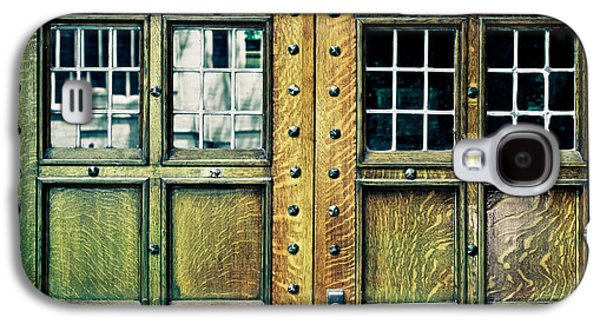 Original Photographs Galaxy S4 Cases - Medieval Doors Galaxy S4 Case by Colleen Kammerer