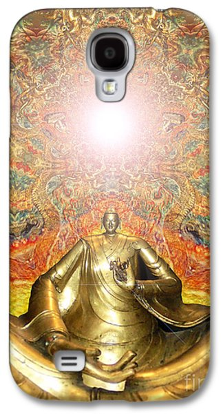 Psychedelic Galaxy S4 Cases - Meditate Galaxy S4 Case by Aeres Vistaas
