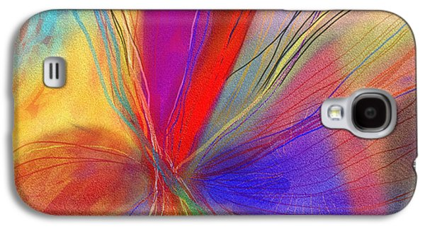 Abstract Digital Drawings Galaxy S4 Cases - Meditate Galaxy S4 Case by Julie Richman