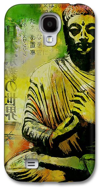 Corporate Task Art Force Galaxy S4 Cases - Meditating Buddha Galaxy S4 Case by Corporate Art Task Force