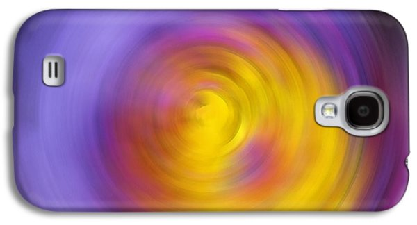 Energy Mixed Media Galaxy S4 Cases - Meditation - Abstract Energy Art By Sharon Cummings Galaxy S4 Case by Sharon Cummings