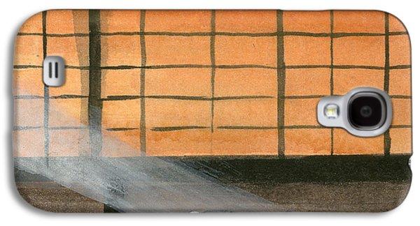 Interior Still Life Drawings Galaxy S4 Cases - Meditation Galaxy S4 Case by Richard Schmidt