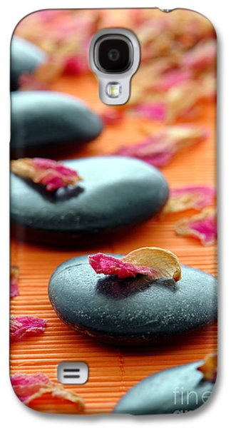 Treatment Galaxy S4 Cases - Meditation Zen Path Galaxy S4 Case by Olivier Le Queinec