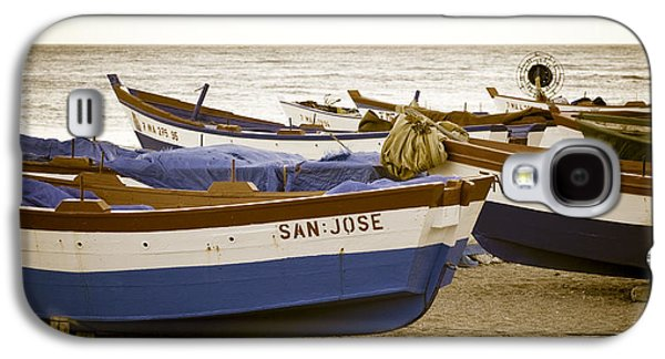 Ocean Art Photos Galaxy S4 Cases - Mediterranean Boats Galaxy S4 Case by Frank Tschakert