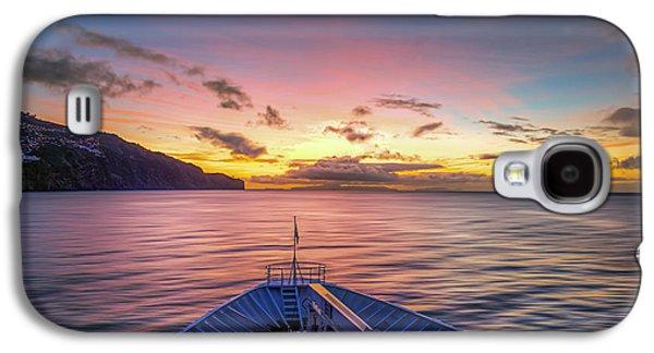 Sun Galaxy S4 Cases - Mediterranean Sunrise Galaxy S4 Case by Maria Coulson