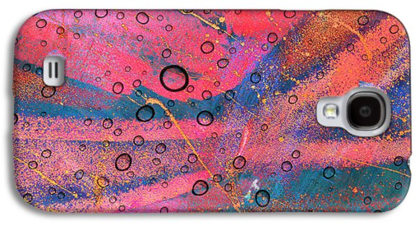 Faniart Africa America Mixed Media Galaxy S4 Cases - Medium Made From Sand Galaxy S4 Case by Fania Simon